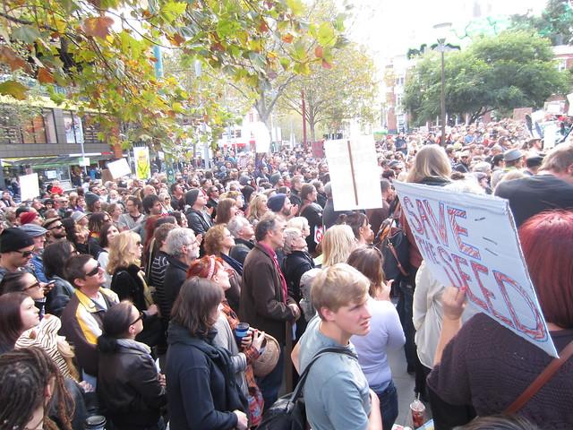 Melbourne March against Monsanto