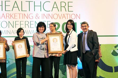 Indonesia Health Care Marketing & Innovation Conference 2013 – Erha Clinic (Makassar) .