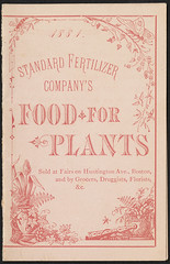 1884 - Standard Fertilizer Company's Food for Plants. (front)