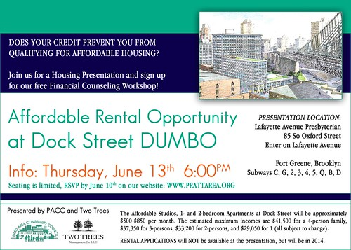 Affordable Housing & Financial Preparedness Info Session