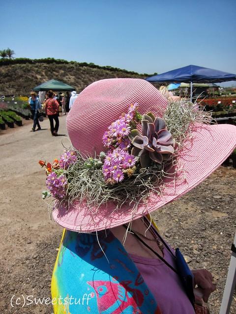 Succulent hat