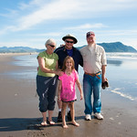 Raible Family on the Oregon coast