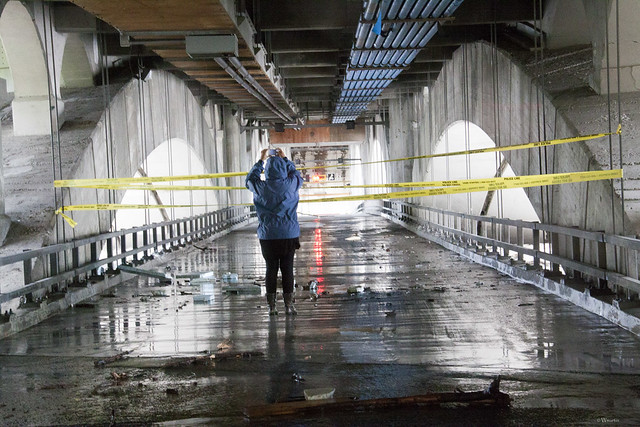 Calgary Flood 2013 - Day 2: under the bridge