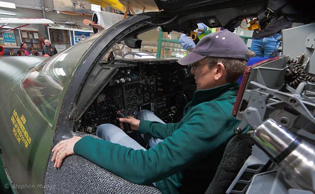 F-111 open cockpit