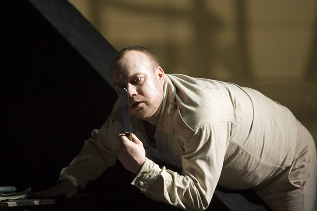 Johan Reuter as Wozzeck in Wozzeck. © ROH / Bill Cooper 2006