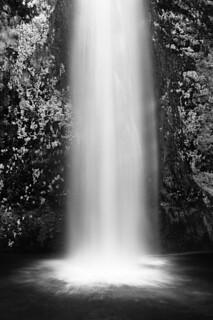 Horsetail Falls (B&W)