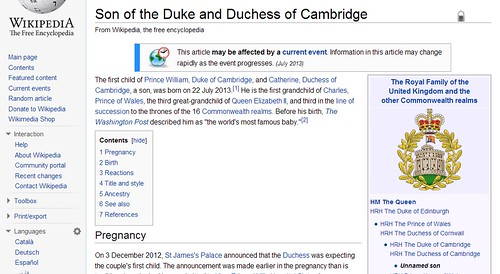 The Duke's Wiki cred.