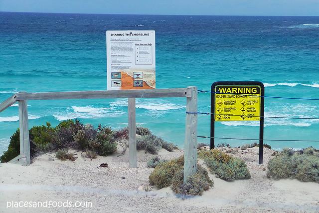 golden island sign boards