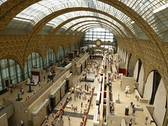 Musée d'Orsay Bird Eyes View