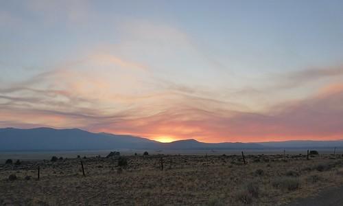 california sunset smoke sierravalley sierraco