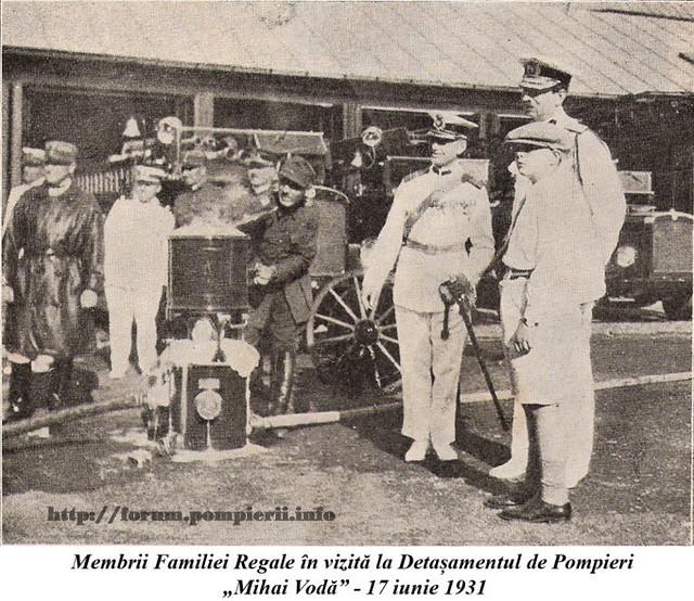 POmpieri Bucuresti 1931
