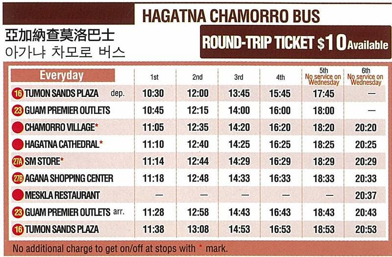 hagatna chamorro  bus