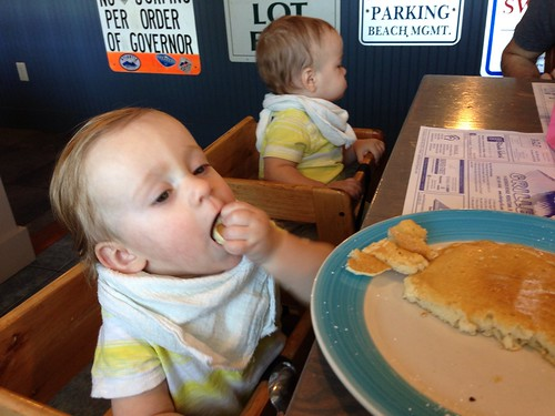 Martin's First Pancake