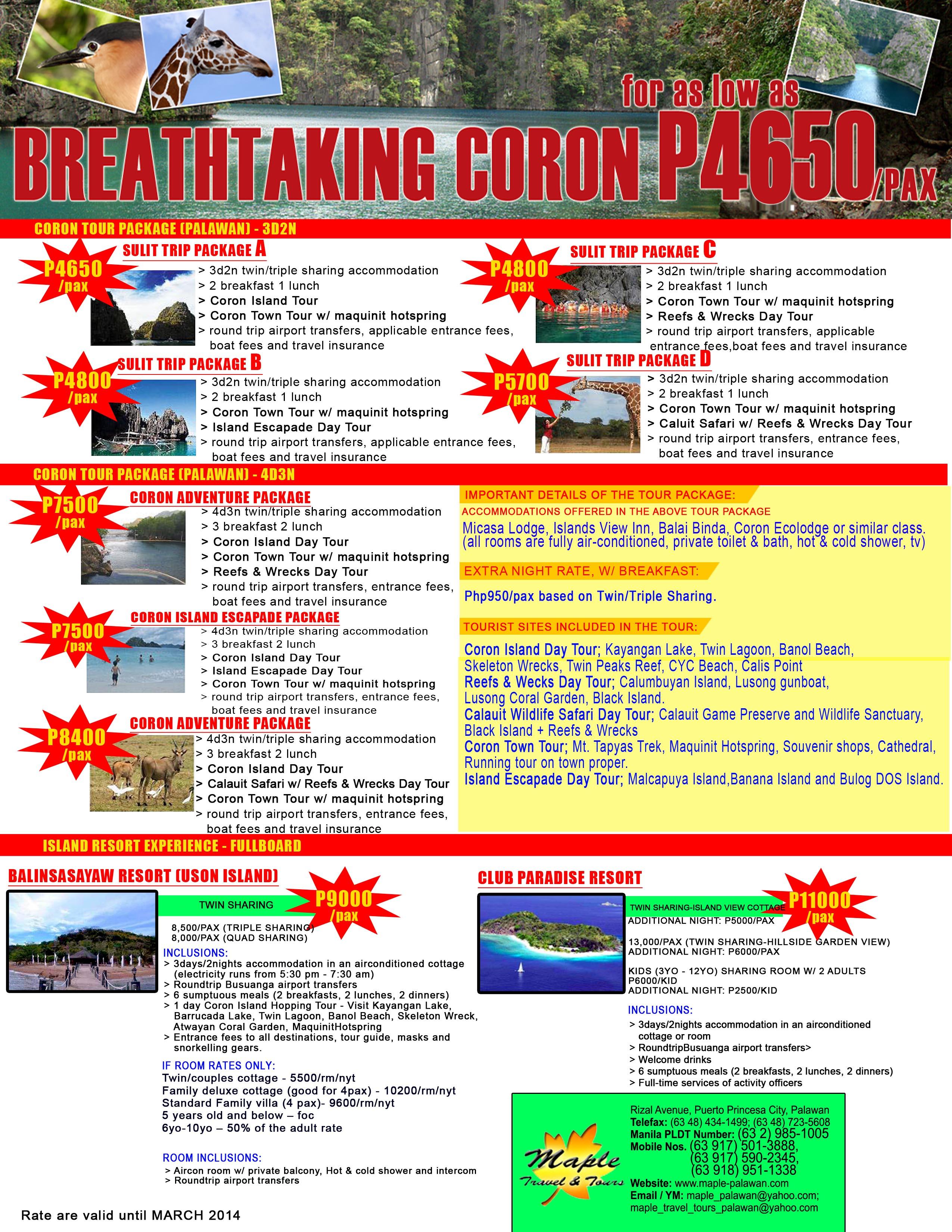 Coron-Tour