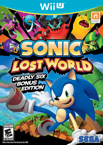 Sonic Lost World Deadly Six Bonus Edition
