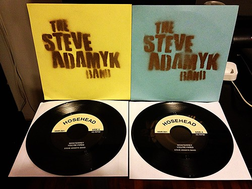"Steve Adamyk Band - Monterrey 7"" - Record Release Show Covers (/50) by Tim PopKid"