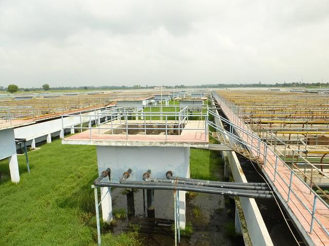 Bharwara sewage treatment plant