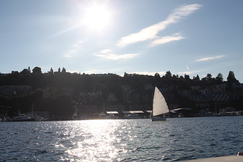 lake union by boat
