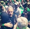 جان استوارت، خبرنگار معروف آمریکایی سر صحنه فیلم «گلاب» درباره جنبش سبز ایران. بخش هایی از این فیلم در اردن در حال تهیه است.