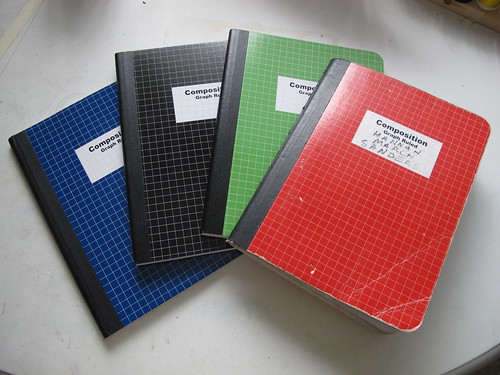 New Notebooks Under Old Notebook