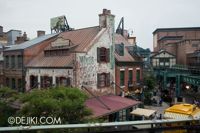 American Waterfront - Disneysea Electric Railway - Declancey Street view