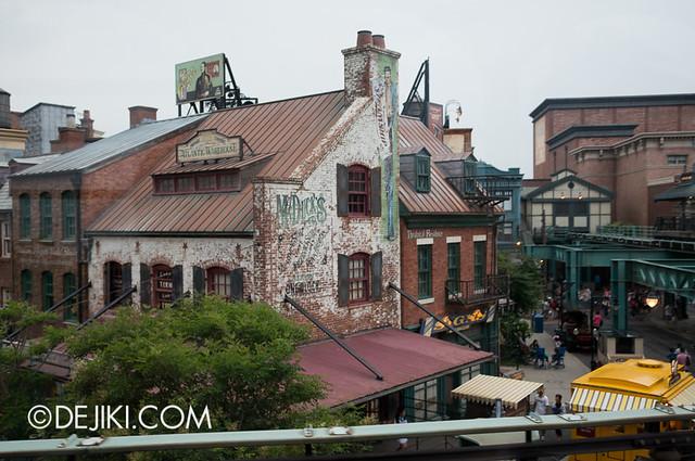 American Waterfront - Disneysea Electric Railway - Declancey Street view