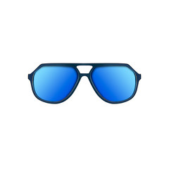 Limited Edition Blue Aviator Sunglasses