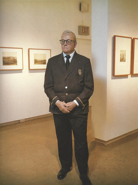 Duane Hanson, Museum Guard, 1976