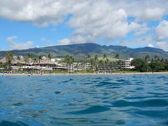 Ka'anapali Beach + Mountains