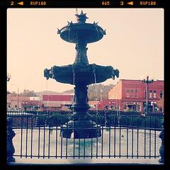 Nelsonville Public Square Fountain