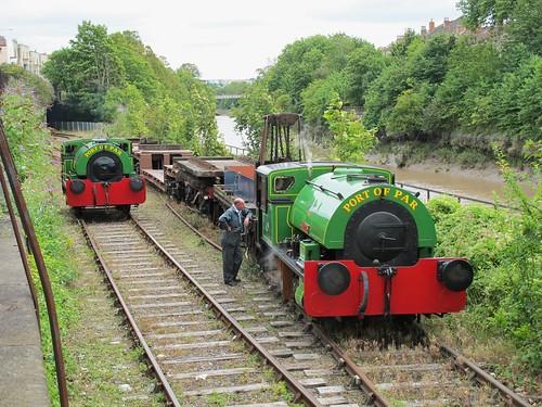 Alfred & Judy Bristol Harbour Railway