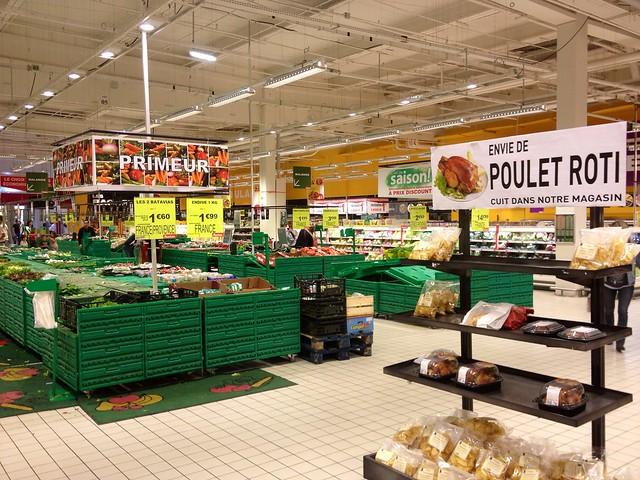 Signalétique & visuel, Auchan (Le Pontet,FR84)