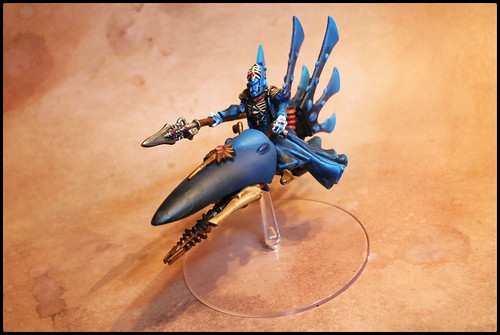 Eldar Warlock on Jetbike conversion
