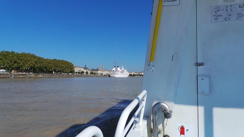 Accostage du MS SEABOURN PRIDE - Bordeaux - 24 septembre 2013