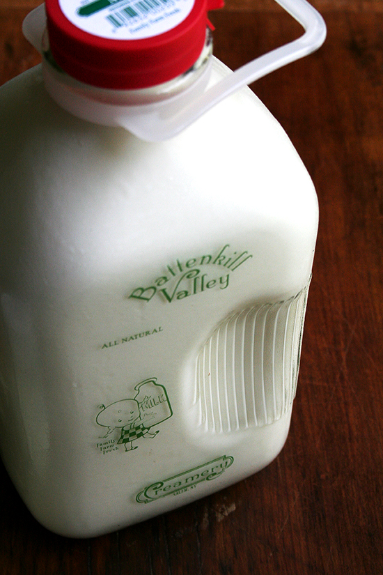 Battenkill Valley milk