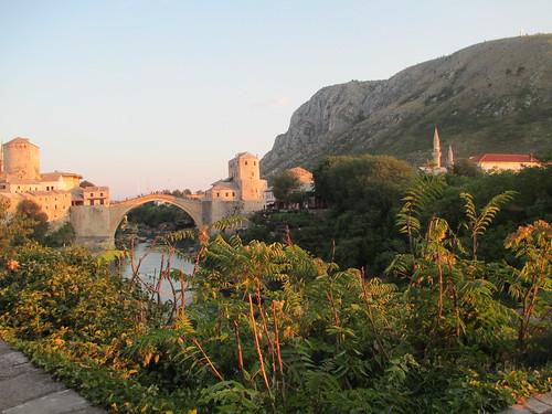 Il ponte di Mostar ricostruito