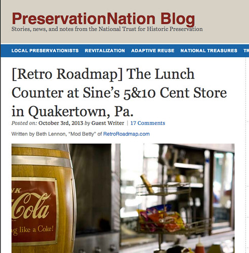 Retro Roadmap  on PreservationNation / The National Trust for Historic Preservation blog