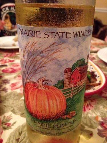 Prairie State Winery Prairie Pumpkin Wine