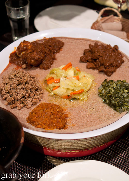 lentil curry misr wot kitffo beef doro wot chicken key wot lamb stew goman collard greens alicha curried vegetable stew Jambo Jambo Ethiopian African Restaurant Crows Nest