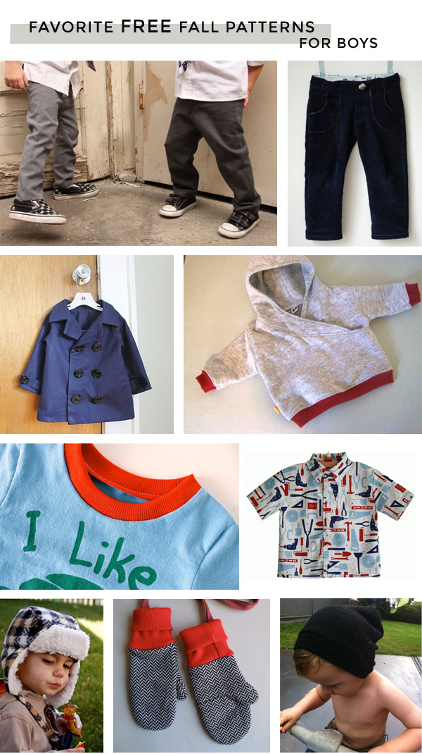 Michael Ann Made || Favorite Free Fall Patterns for Boys