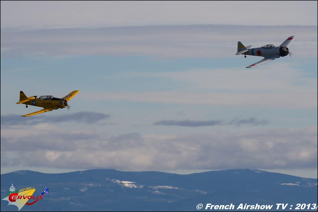 T-6 F-AZRO T-6 F-AZBL a Cervolix 2013