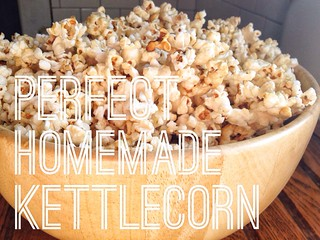 Perfect Homemade Kettlecorn