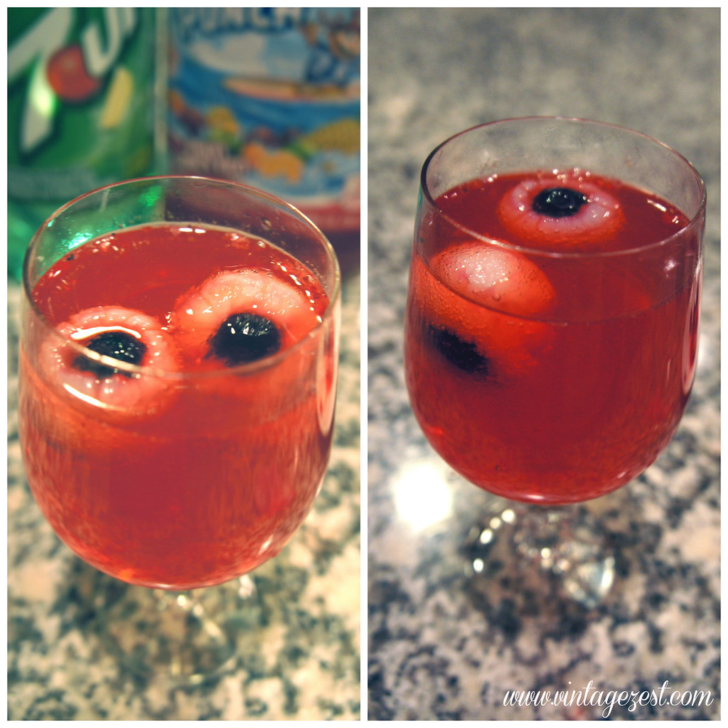 Bloody Eyeball Punch Halloween Celebrations Dessert & Punch #SpookyCelebration #shop #cbias #ad 6