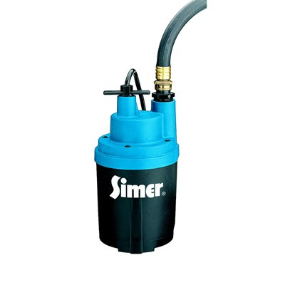 simer submersible utility pump