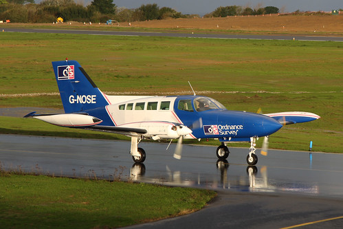 G-NOSE Cessna 402B by Guernsey Airport Photography