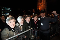 Partridge Fever Hits Norwich For Christmas Lights