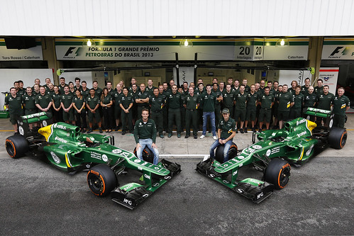 Caterham F1 Team official shot