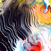 Fluid Painting Detail Acrylic Waves by markchadwickart