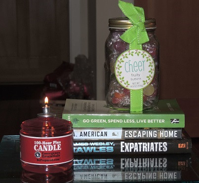 EE Candle and Candies