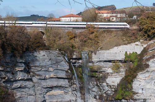 La Cascada de Goiuri, una de las más altas del País Vasco